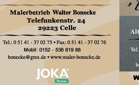 Maler Celle malermeister walter bonecke celle